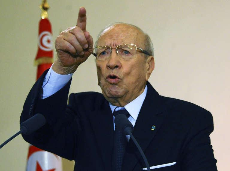 Le président tunisien Béji Caïd Essebsi, en janvier 2015.