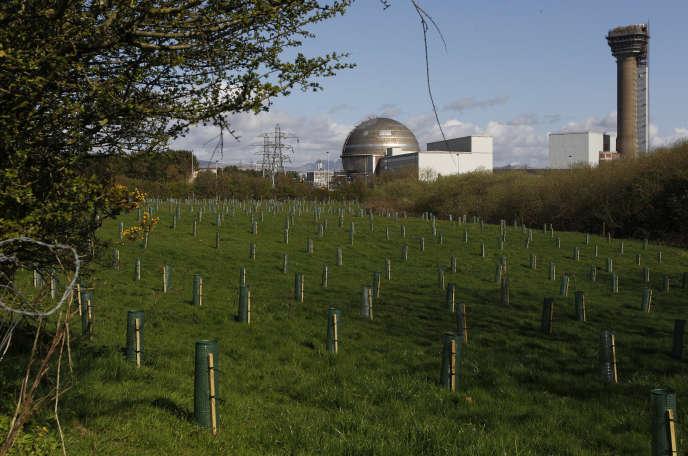 L'usine de retraitement de déchets de Sellafield, en avril 2011.