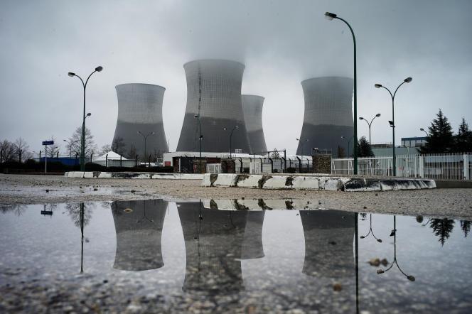 Le nucléaire assure les trois-quarts de la production d'électricité en France. (Ici, le site du Bugey, à Saint-Vulbas (Ain))
