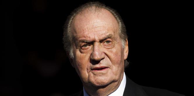 Juan Carlos, alors roi d'Espagne, à Madrid, en décembre 2011.