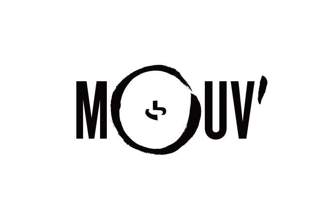 Le nouveau logo du Mouv', dont la nouvelle version sera lancée le 2 février 2015.