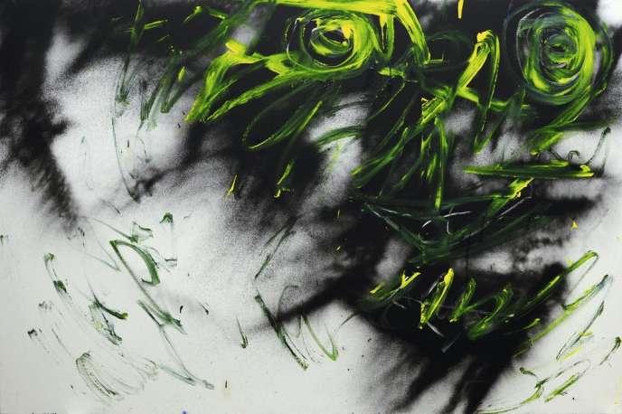 A découvrir au Grand Palais, les oeuvres intenses de Mario Benjamin. Ici,