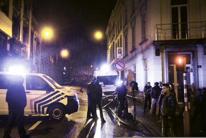 Une opération antiterroriste a été menée dans le quartier du palais de justice Verviers, dans l'est de la Belgique, jeudi 15 janvier.