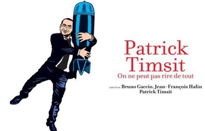 L'affiche du spectacle de Patrick Timsit au Théâtre du Rond-Point,