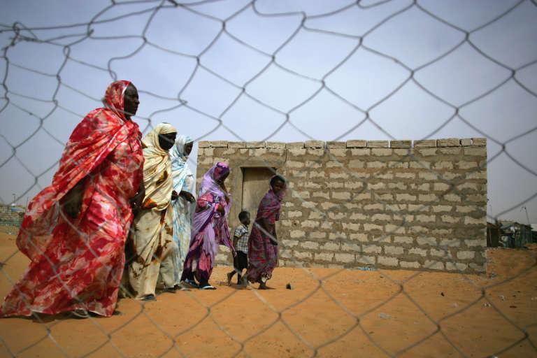 Des anciens esclaves, à Nouakchott.