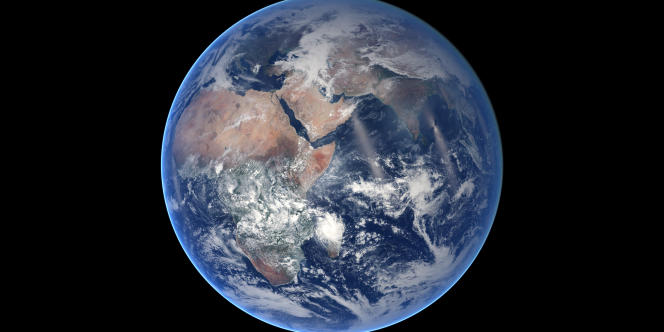 Une image de la planète Terre le 21 août 2014.