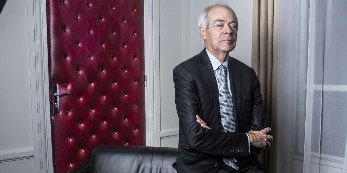 Jean-Marie Delarue, président de la commission nationale de contrôle des interceptions de sécurité.