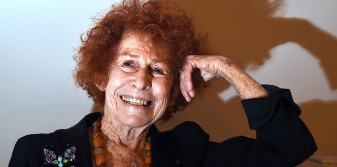 Marceline Loridan-Ivens, le 15 janvier 2015.