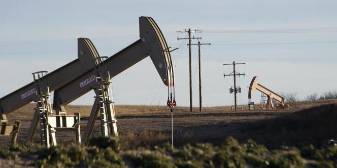 Extraction de pétrole dans le Dakota du Nord, en novembre 2014.