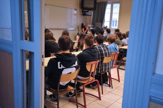 Dans un lycée de Nantes (photo d'illustration).