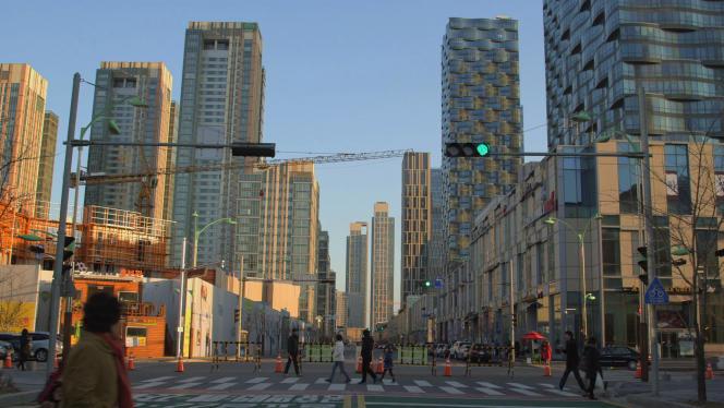 Le quartier de Songdo est un nouveau quartier de la ville d'Incheon en Corée du Sud.