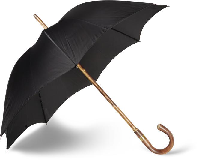 Parapluie avec poignée en bois de châtaignier, Kingsman.