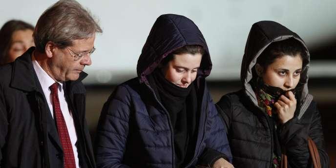 Greta Ramelli et de Vanessa Marzullo avaient été enlevées dans un village proche d'Alep, dans le nord de la Syrie, le 31 juillet.