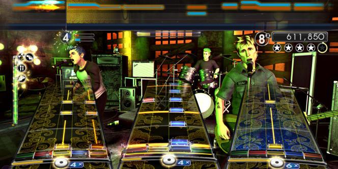 Extrait du jeu video musical Rock Band.