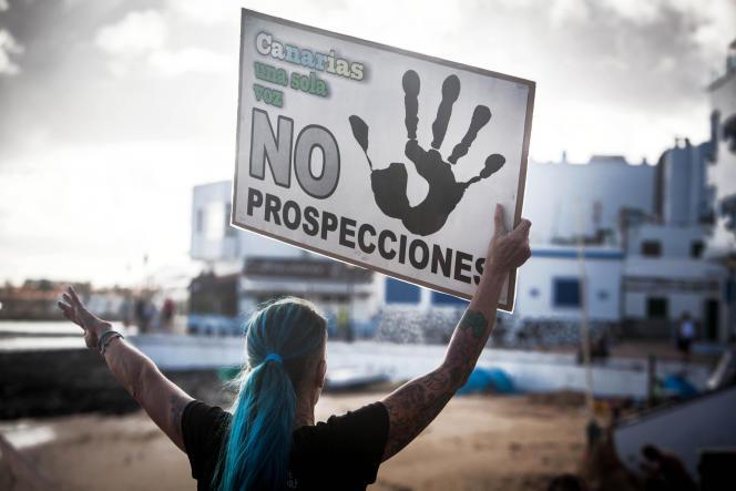 Aux Canaries, l'opinion publique est férocement opposée au projet de Repsol.