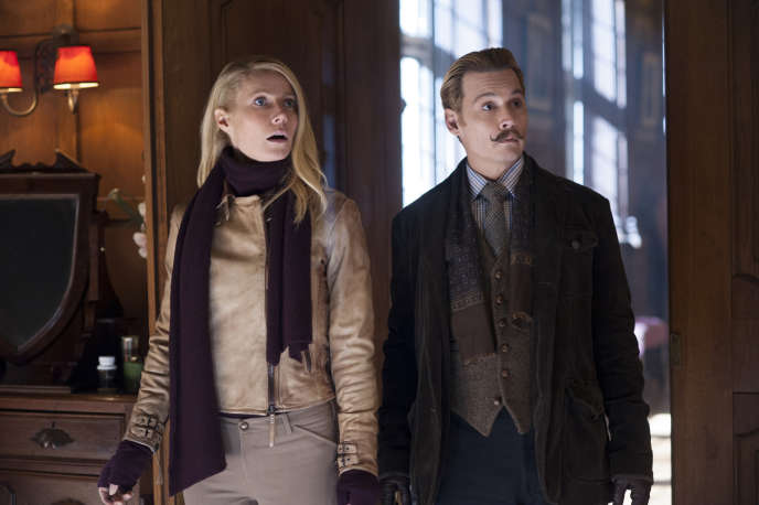 Gwyneth Paltrow et Johnny Depp dans le film américain de David Koepp,