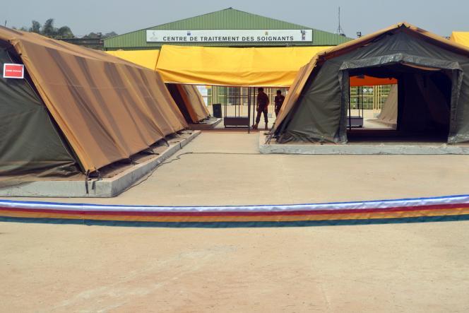 Le centre médical situé à l'aéroport international de Conakry.