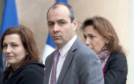 Le secrétaire général de la CFDT Laurent Berger à l'Elysée le 19 janvier.