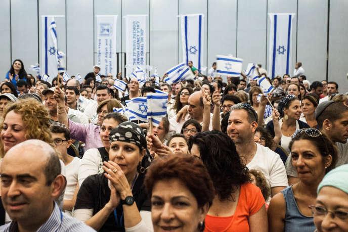 Journée d'accueil et cérémonie de remises des cartes d'identité à l'hôtel Ramada de Jérusalem, le 17 juillet  2014