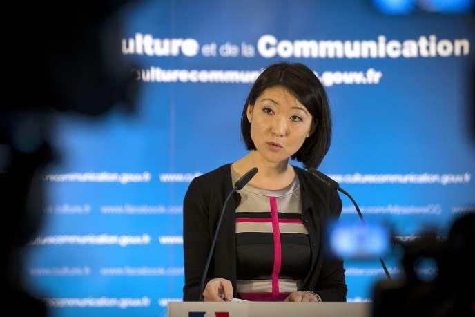 Fleur Pellerin, alors ministre de la culture, à Paris, le 19 janvier 2014.