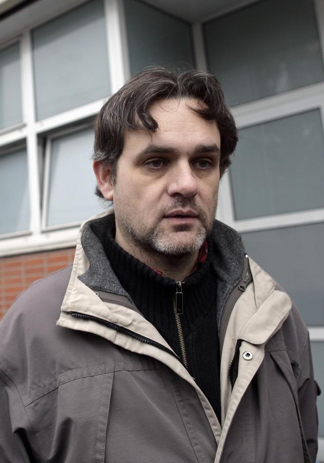 Le dessinateur Laurent Sourisseau, en novembre2011.