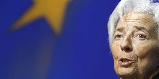 La directrice générale du Fonds monétaire international (FMI), Christine Lagarde.