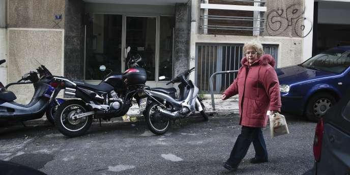 Deux hommes ont été arrêtés le 17janvier par la police grecque dans un appartement du centre d'Athènes.