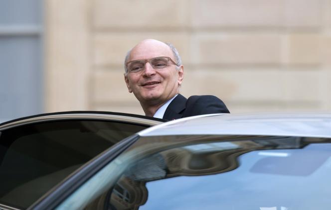 Le premier président de la Cour des comptes, Didier Migaud, à l'Elysée en janvier.