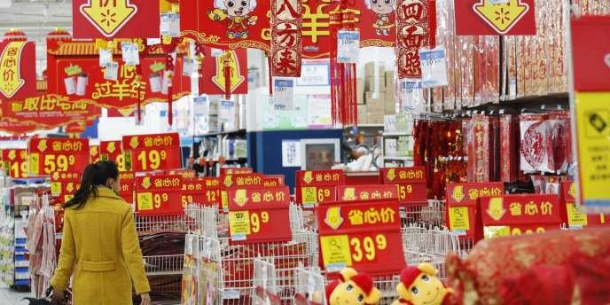 L'économie chinoise croît à son rythme le plus lent depuis la crise des subprimes.