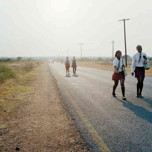 Untitled, de la série « Homeland » de Thabiso Sekgala.