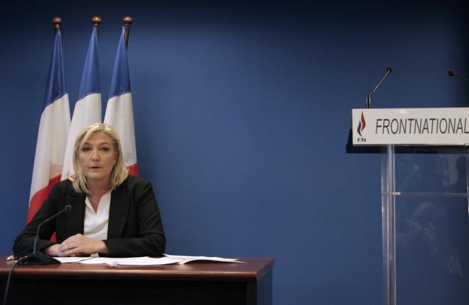Dans des pays comme l'Espagne et la Grèce, où « il n'y a pas d'équivalent au Front national, c'est l'extrême gauche qui prend notre place », s'amuse Mme Le Pen.