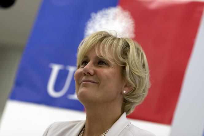 L'eurodéputée Nadine Morano en septembre 2014.
