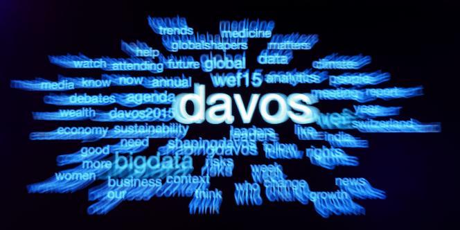 De nombreux thèmes sont abordés lors du Forum économique mondial.