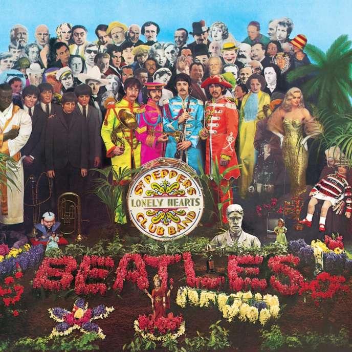 Pochette de l'album des Beatles,