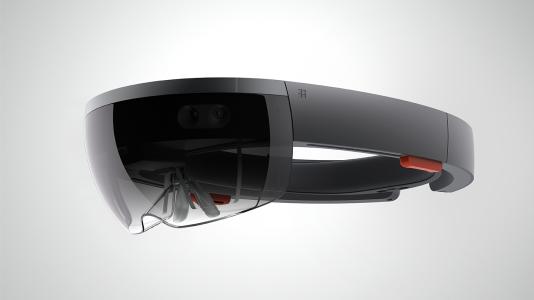 Le casque HoloLens de Microsoft.