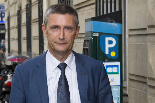 Frédéric Péchenard à Paris, en septembre 2014.