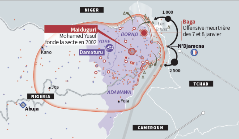 La folie meurtrière de Boko Haram.
