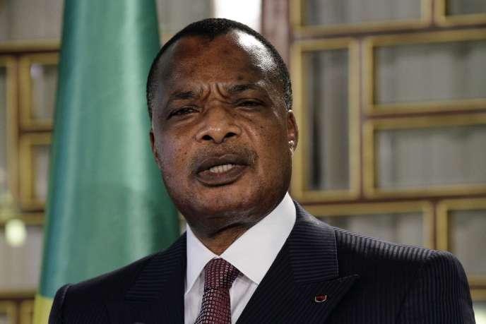 Le président congolais Denis Sassou Nguesso.