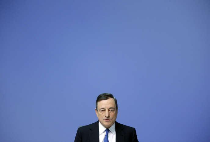 Mario Draghi le 22 janvier 2015.