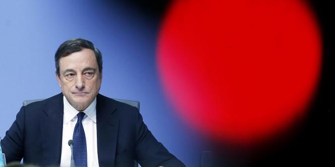 Mario Draghi, le 4 décembre 2014.