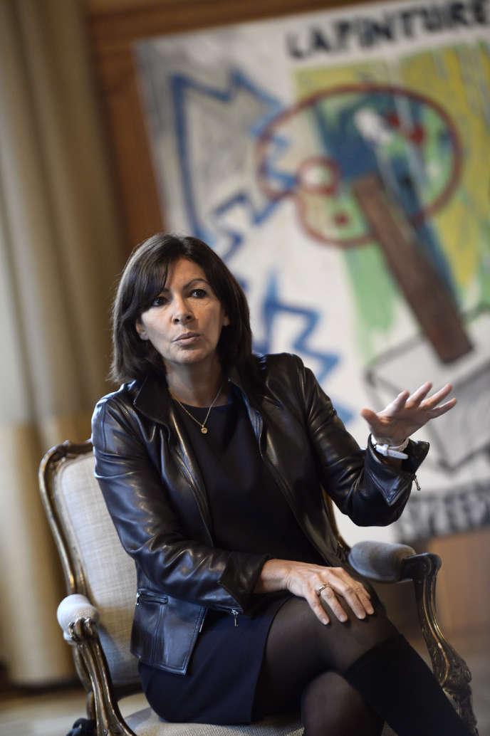 La maire de Paris, Anne Hidalgo, soumettra son plan antipollution au Conseil municipal du 9 février.