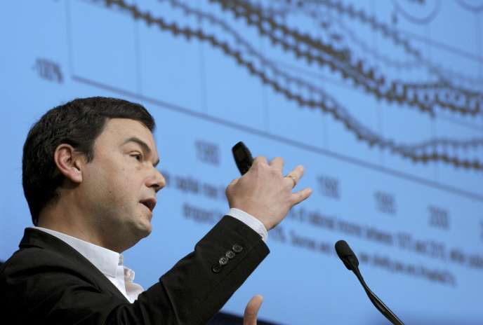 Thomas Piketty, le 23 janvier, à Paris.