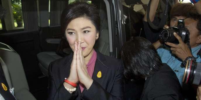 Yingluck Shinawatra, le 9 janvier 2015.