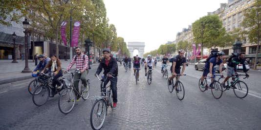 Paris veut devenir «100% cyclable» en2020.