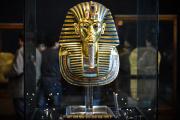 Le célèbre masque de Toutankhamon conservé au Musée du Caire en Egypte.