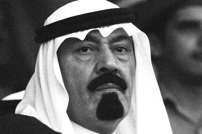Abdallah Ben Abdel Aziz Al-Saoud en 1980.