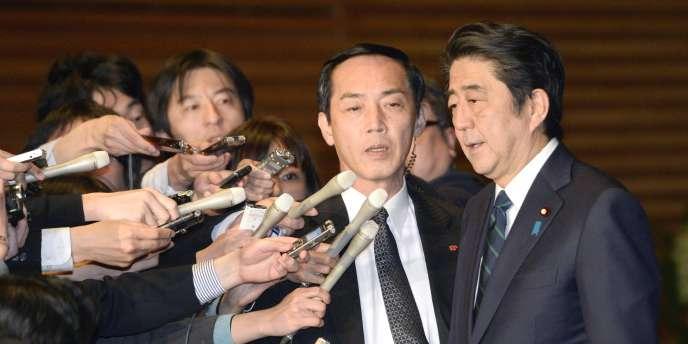 Le premier ministre japonais Shinzo Abe s'est dit