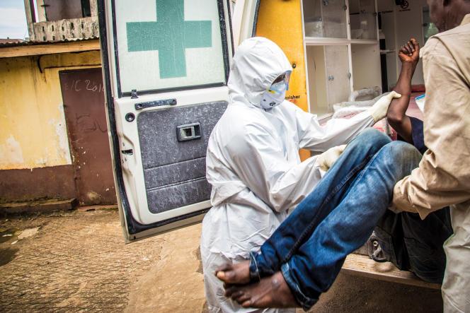 A Freetown, en Sierra Leone, le 24 septembre.