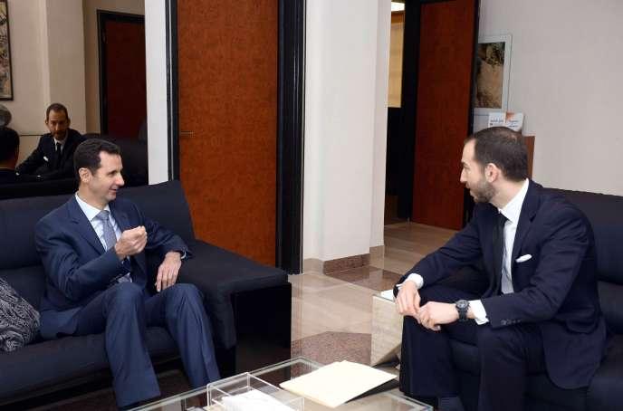 Bachar Al-Assad donne un entretien au magazine américain