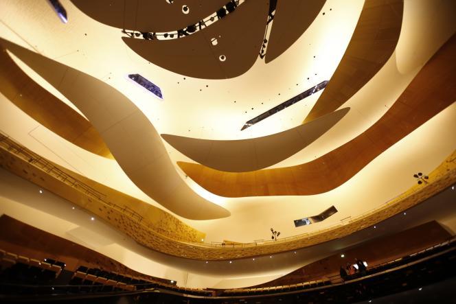 La Philharmonie de Paris, conçue par Jean Nouvel.